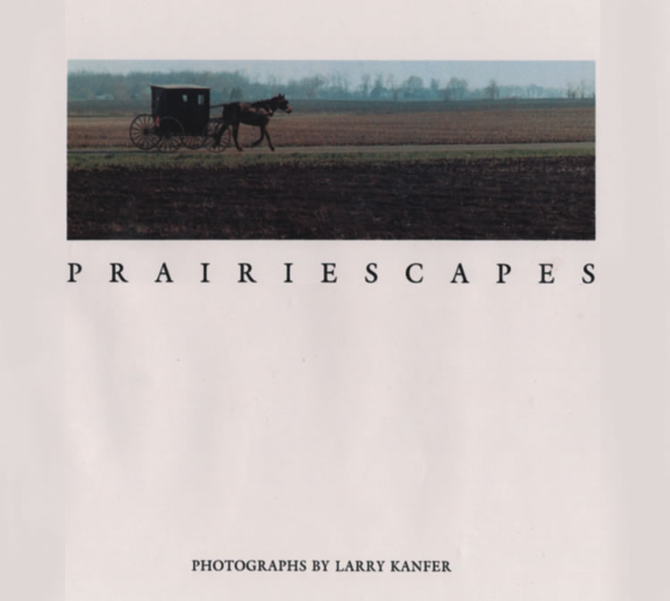 Prairiescapes Book by Larry Kanfer